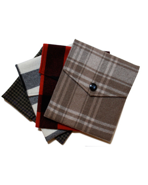 The Lodge Cashmere iPad Covers