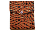 Toni's Tiger Vintage Burnout Polyester Chiffon iPad Cover